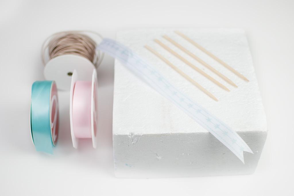 salakreativ Dekoschleifen binden stempeln diy materialliste
