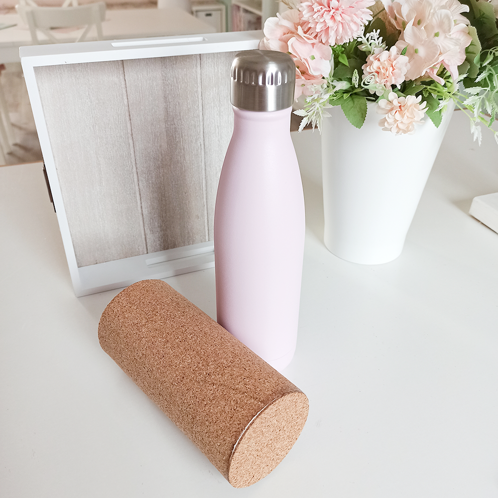 Eine Flaschentasche mit Boden