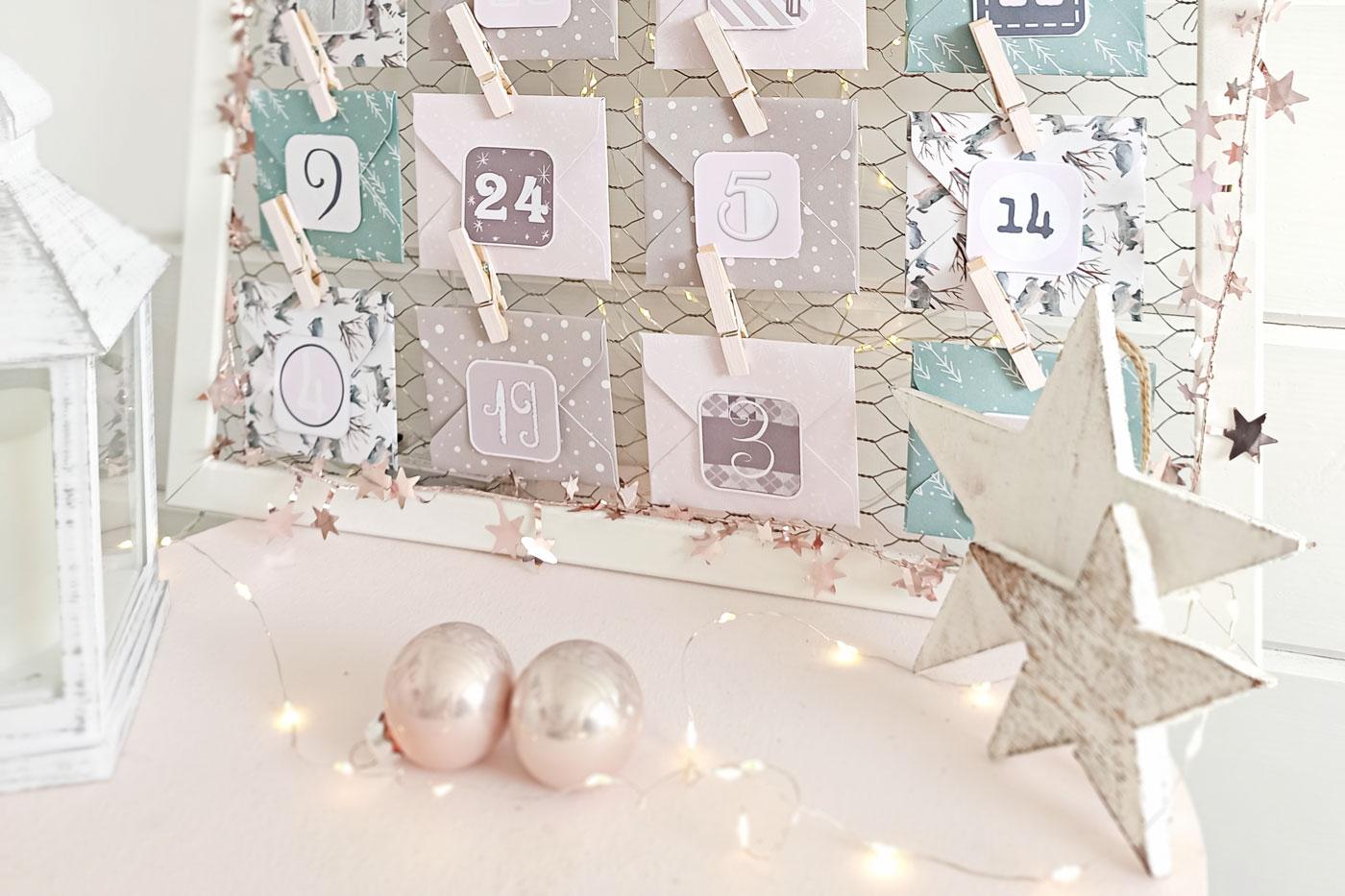 DIY Umschläge für Adventskalender Blogübersicht